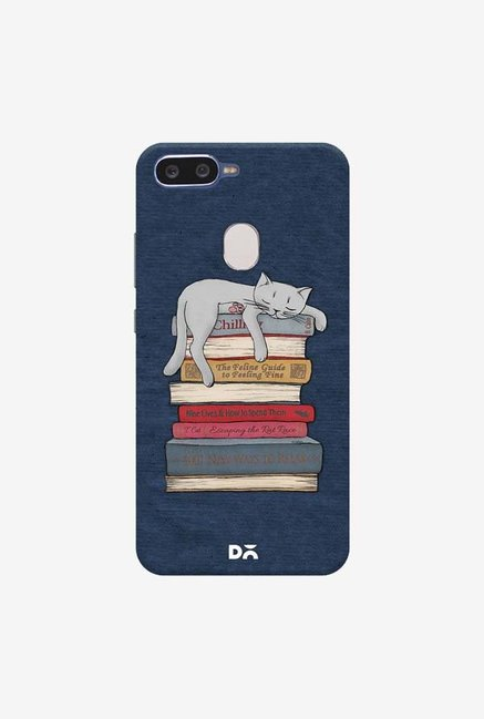DailyObjects How to Chill Like A Cat Case Cover For Oppo F9 Pro