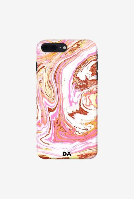 DailyObjects Marble Copper Dust Case For iPhone 7 Plus