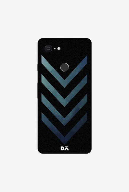 DailyObjects Dark Blue Arrow Case Cover For Google Pixel 3