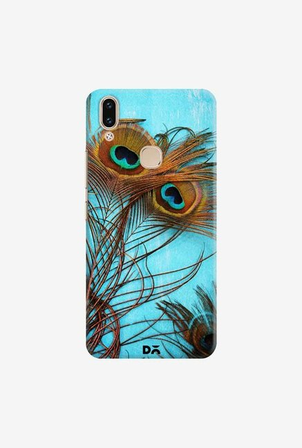 DailyObjects 3 Peacock Feathers Case Cover For Vivo V9