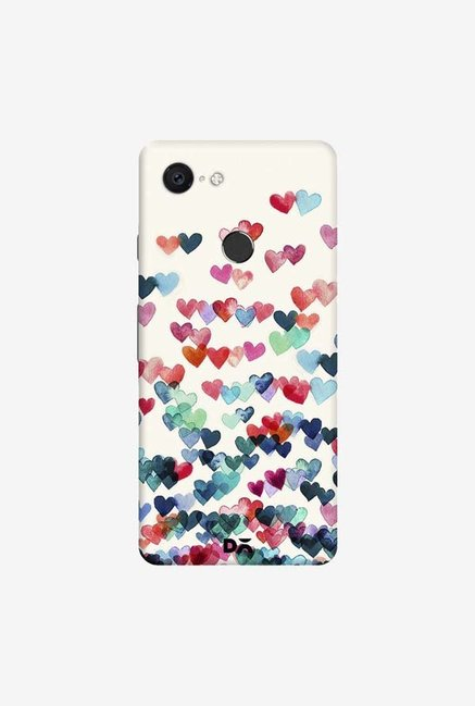 DailyObjects Heart Connections Case Cover For Google Pixel 3