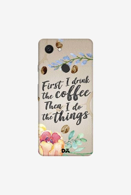 DailyObjects I Drink Coffee Case Cover For Google Pixel 3