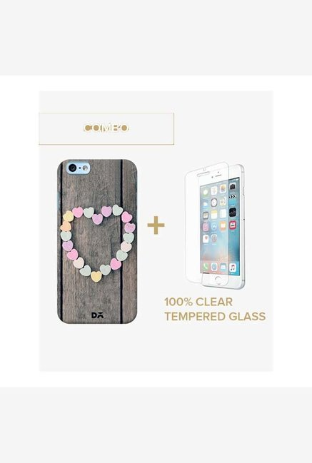 DailyObjects Peace Case For iPhone 6 Plus Combo