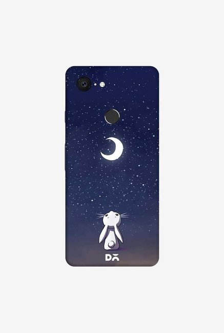 DailyObjects Moon Bunny Case Cover For Google Pixel 3