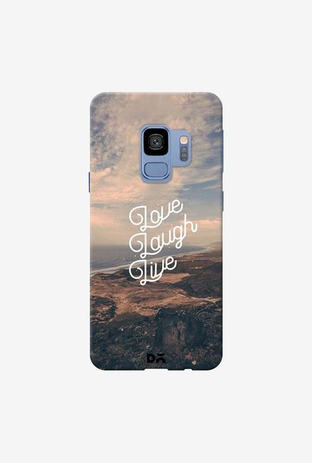 DailyObjects Love Laugh Live Case Cover For Samsung Galaxy S9