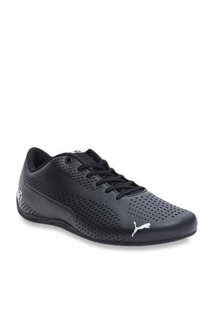 PUMA BMW MMS Drift Cat 5 Ultra II Men Sneaker Shoes Black