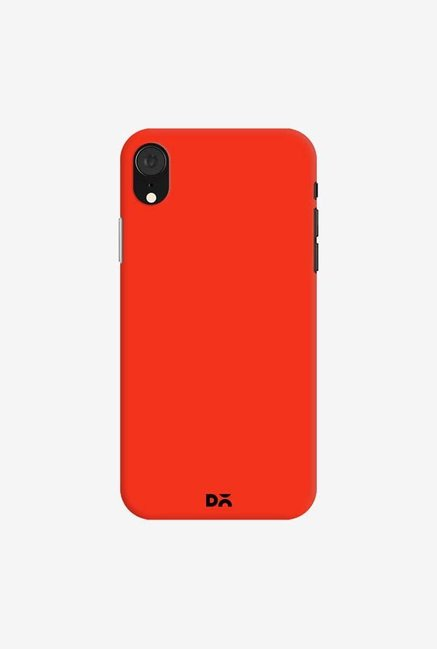 DailyObjects Bright Red Case Cover For iPhone XR