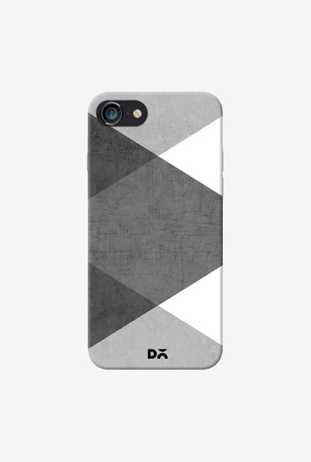 DailyObjects Black and White Triangles Case For IPhone 7