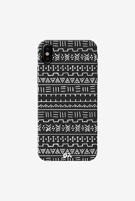 DailyObjects African Minimal B And W Case Cover For iPhone X