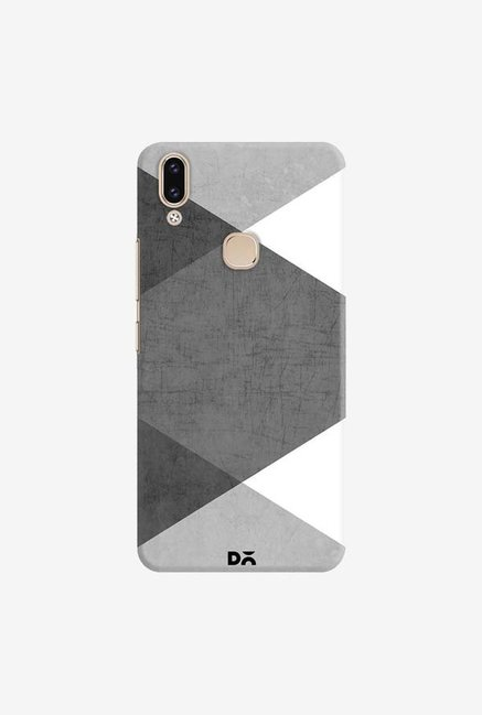 DailyObjects Black and White Triangles Case Cover For Vivo V9