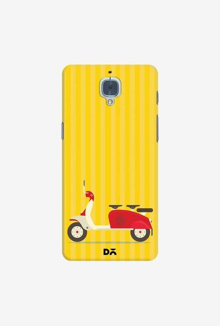 DailyObjects 3 To Go Scooter Yellow Striped Case For OnePlus 3T
