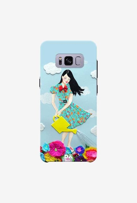 DailyObjects Girl In Flowerland Case For Samsung Galaxy S8