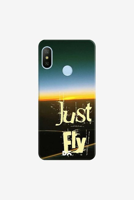 DailyObjects Just Fly Case Cover For Xiaomi Redmi 6 Pro/A2 Lite