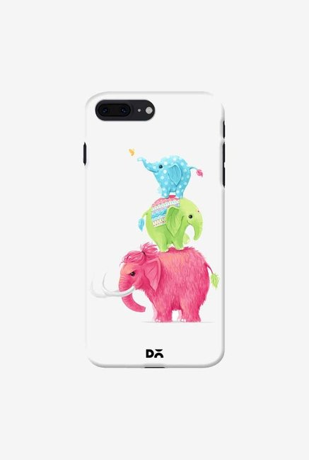 DailyObjects Candy Elephants Case For IPhone 7 Plus