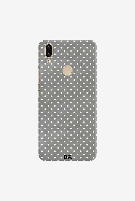 DailyObjects Dark Gray Swiss Dots Case Cover For Vivo V9