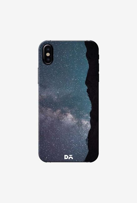 DailyObjects Starry Night Sky Case Cover For iPhone X