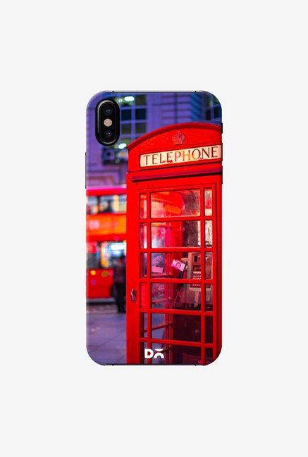 DailyObjects Telephone Box Case Cover For iPhone X