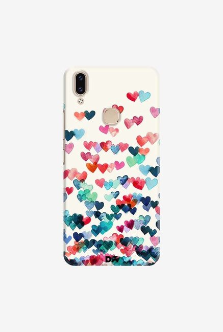 DailyObjects Heart Connections Case Cover For Vivo V9