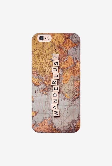 DailyObjects Wanderlust Map Case For iPhone 6s