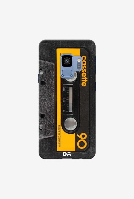 DailyObjects Cassette Yellow Case Cover For Samsung Galaxy S9