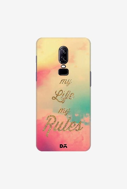 DailyObjects My Life My Rules Case Cover For OnePlus 6