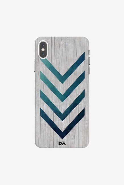 DailyObjects Blue Arrow Case Cover For iPhone XS Max