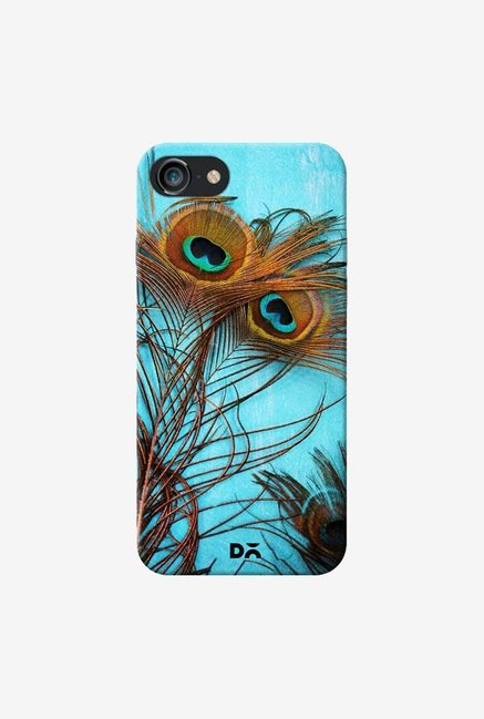 DailyObjects 3 Peacock Feathers Case For IPhone 7