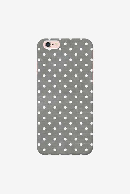 DailyObjects Dark Gray Swiss Dots Case For iPhone 6s