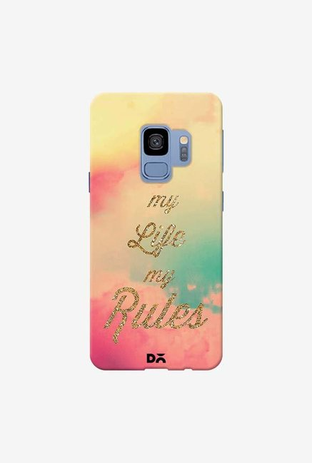 DailyObjects My Life My Rules Case Cover For Samsung Galaxy S9