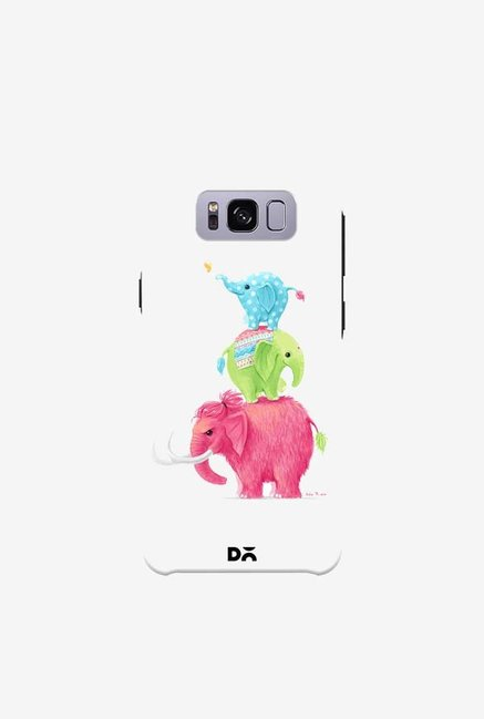 DailyObjects Candy Elephants Case For Samsung Galaxy S8