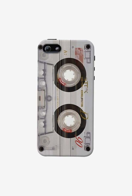 DailyObjects Transparent Cassette Case For iPhone 5/5S