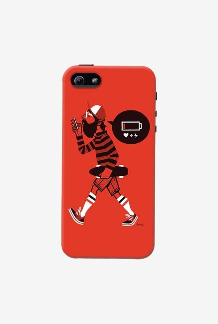DailyObjects Lowbat Case For iPhone 5/5S
