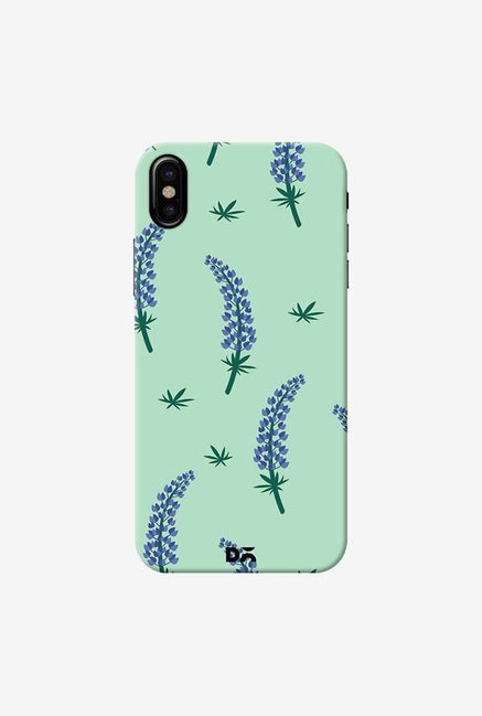 DailyObjects Lavender Branch Case Cover For iPhone X