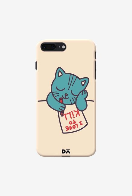 DailyObjects I Love To Kill Cat Case Cover For iPhone 8 Plus