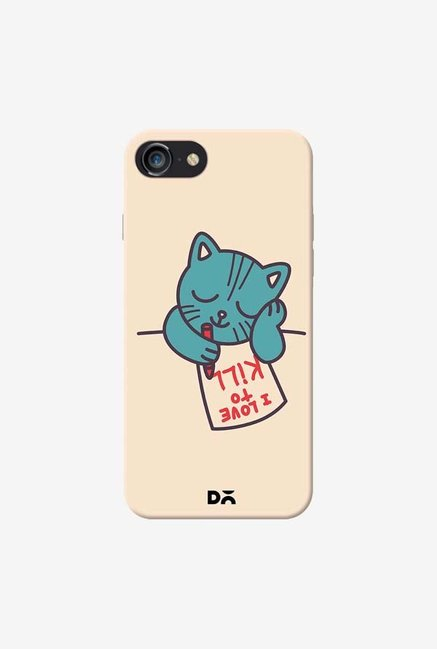 DailyObjects I Love To Kill Cat Case Cover For iPhone 8