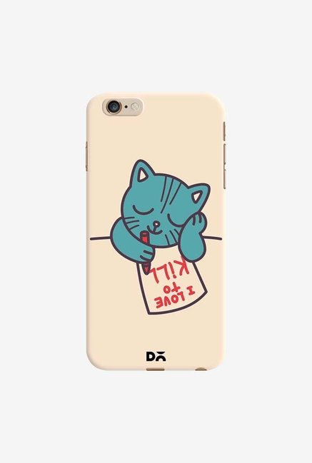 DailyObjects I Love To Kill Cat Case Cover For iPhone 6 Plus