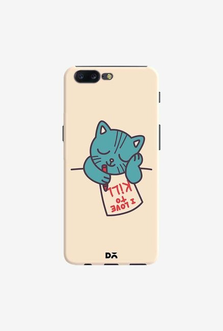 DailyObjects I Love To Kill Cat Case Cover For OnePlus 5