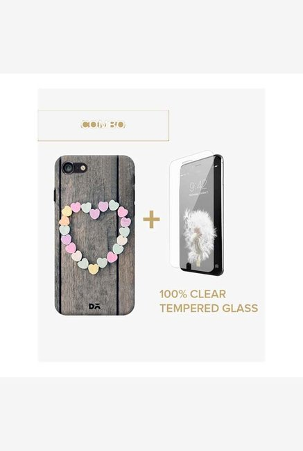 DailyObjects Peace Case For iPhone 7 Combo