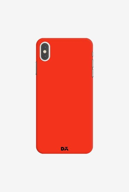 DailyObjects Bright Red Case Cover For iPhone XS Max