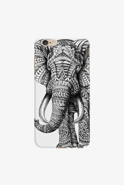 DailyObjects Ornate Elephant Case For iPhone 6 Plus