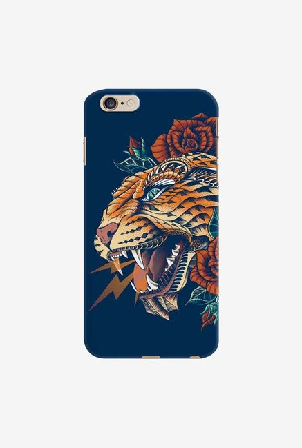 DailyObjects Ornate Leopard Blue Case For iPhone 6 Plus