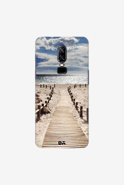 DailyObjects Beach Case Cover For OnePlus 6
