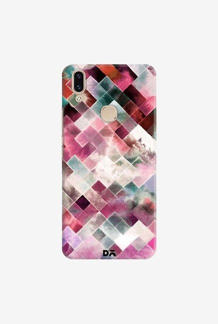 DailyObjects Moody Geometry Pink Case Cover For Vivo V9