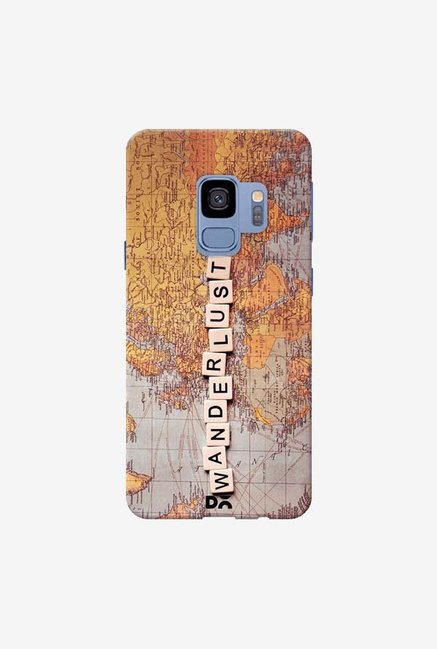 DailyObjects Wanderlust Map Case Cover For Samsung Galaxy S9