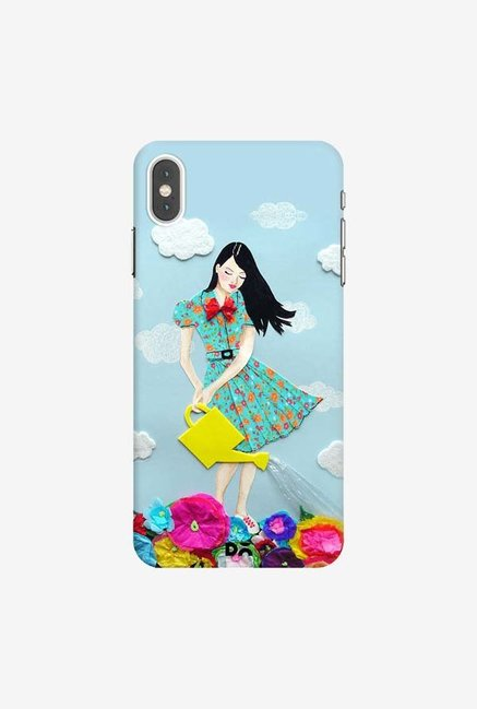 DailyObjects Girl In Flowerland Case Cover For iPhone XS Max