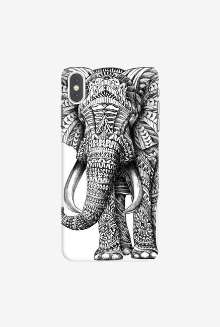 DailyObjects Ornate Elephant Case Cover For iPhone XS Max