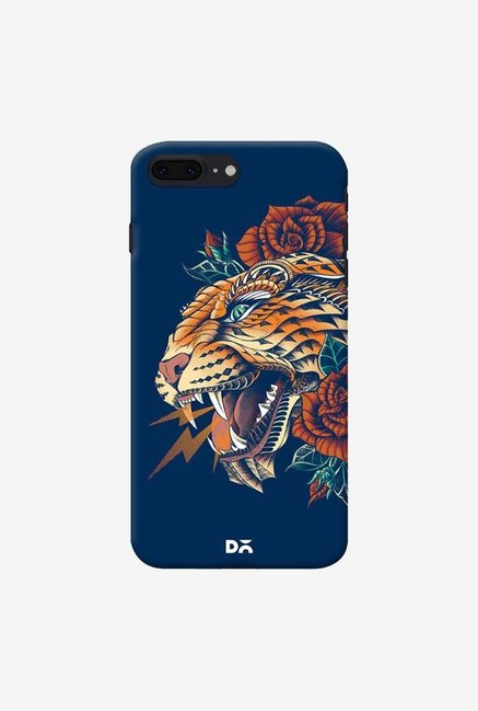 DailyObjects Ornate Leopard Blue Case For IPhone 7 Plus