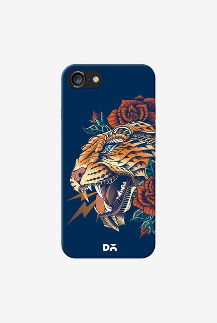 DailyObjects Ornate Leopard Blue Case For IPhone 7