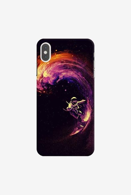 DailyObjects Space Surfing Case Cover For iPhone XS Max