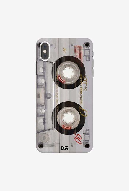 DailyObjects Transparent Cassette Case Cover For iPhone XS Max
